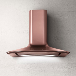 Elica DOLCE wall mount extractor in COPPER